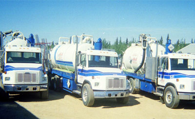 oilfield vacuum truck services texas